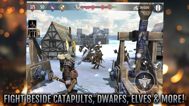 Сиквел игры Heroes and Castles для iPhone и iPad