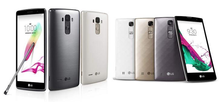 LG G4c и G4 Stylus - пара новых смартфонов от LG