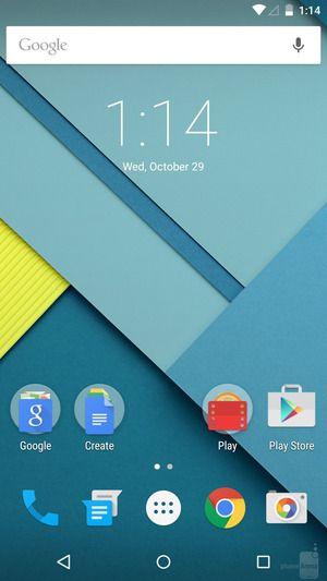 Android M не прощается с Material Design