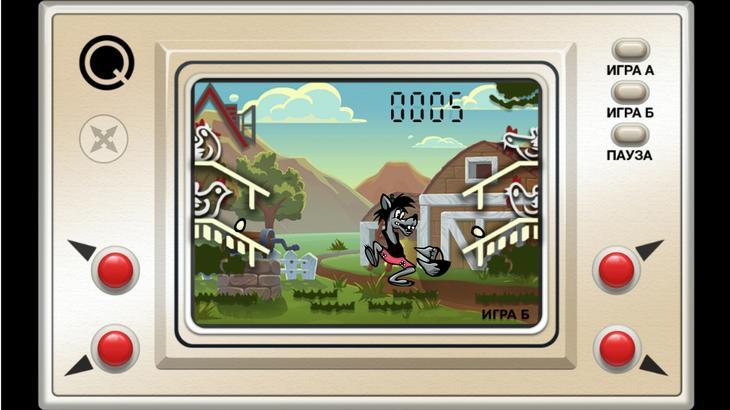 Игра Настоящий Ну Погоди! в цвете для Android