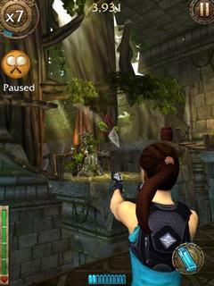 Игра Lara Croft: Relic Run для iOS