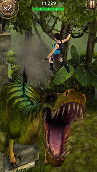 Бесконечный раннер Lara Croft: Relic Run для iOS