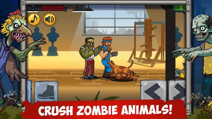 Игра Чак Норрис против Зомби на Андроид