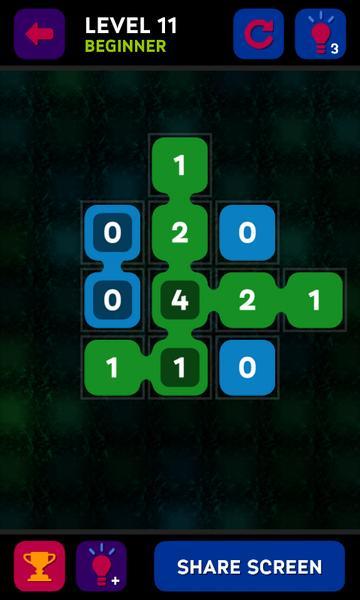 Логическмя игра Join Nums на Андроид