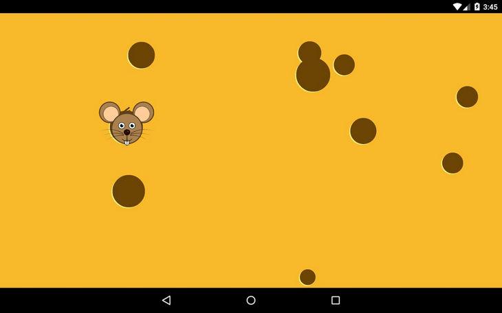 Тренажер визуальный памяти Мышка в виде игры на Андроид