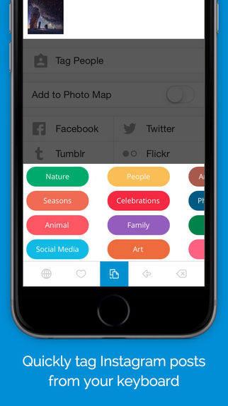 Приложение TagsDock для iPhone