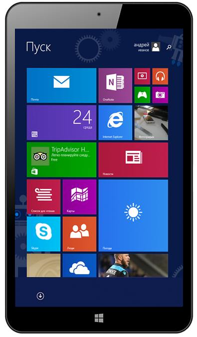 Планшет Prestigio MultiPad Visconte Quad 3G за 4 500 рублей: Windows и билет в кино