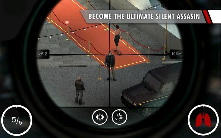 Игра Hitman: Sniper на Андроид