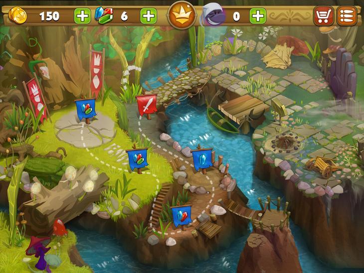 Игра Карл - король жуков на iPhone и iPad
