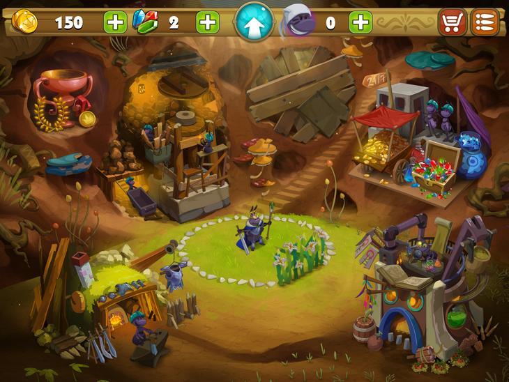 Игра для iOS Карл - король жуков