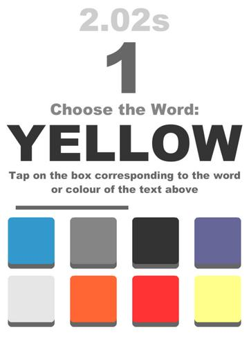 Игра Colourblind для iPhone и iPad