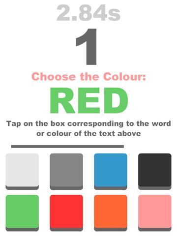 Игра Colourblind для iOS