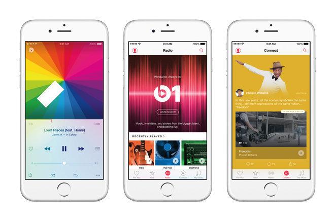Музыкальный сервис Apple Music
