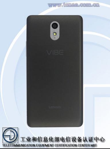 Смартфон Lenovo Vibe P1, вид сзади