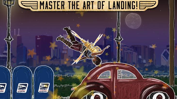 Игра про полеты на ракетном ранце для iPhone и iPad