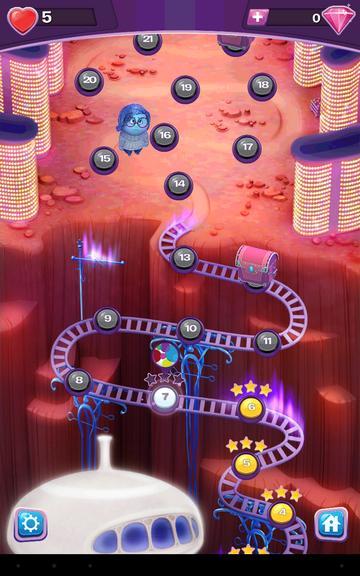 Уровни в игре Головоломка шарики за ролики на Андроид и iPhone