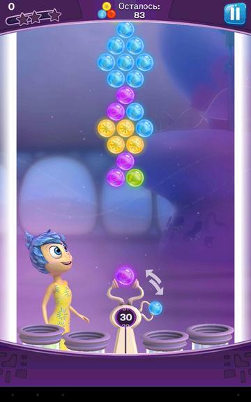 Головоломка шарики за ролики первый уровень