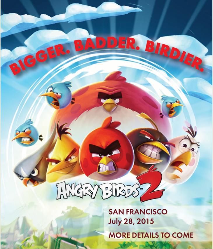 Angry Birds 2 дата выхода сиквела
