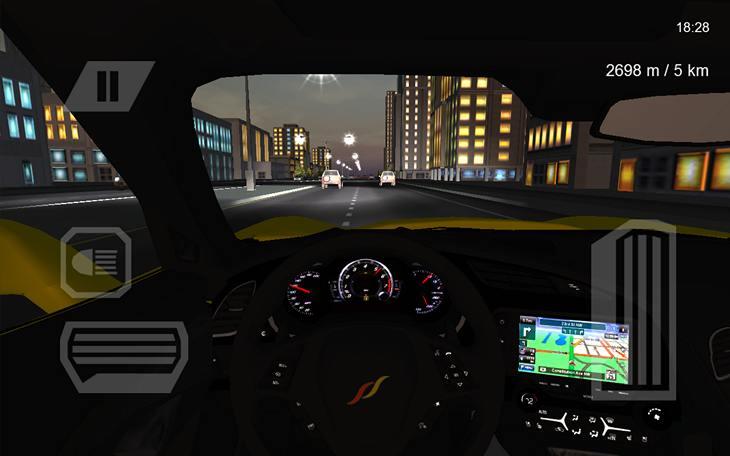 Симулятор путешествия по США на автомобиле для Андроид