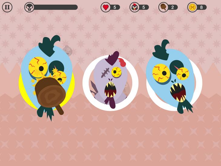 Игра ZomBehead! для iOS