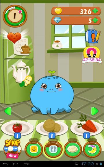 Игра Мое домашнее животное - за обеденным столом