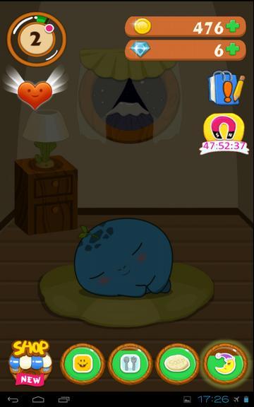 Мое домашнее животное - питомец спит