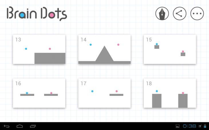 Головоломка Brain Dots на Андроид