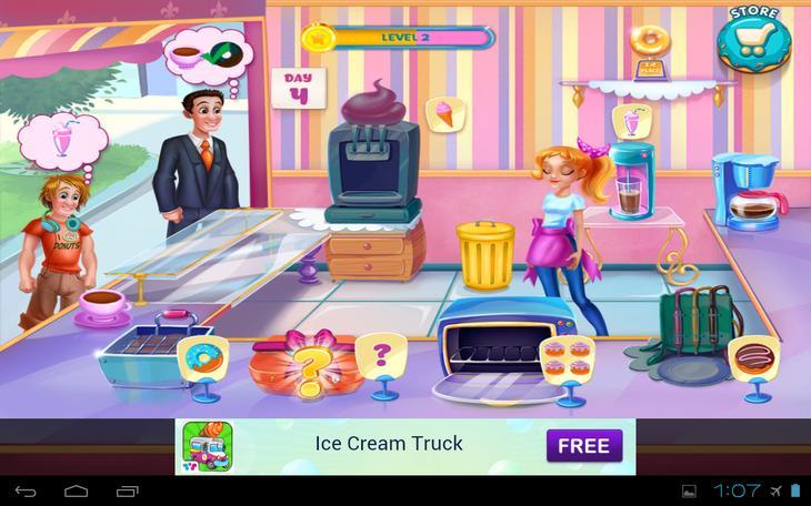 Игра Моя Пекарня на Андроид