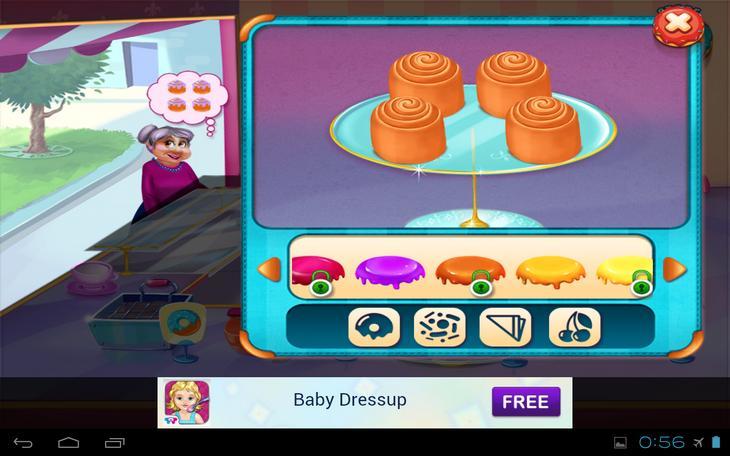 Игра для девочек Моя Пекарня на Андроид