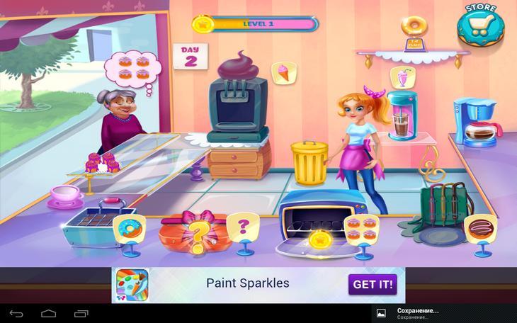 Мобильная игра Моя пекарня для смартфонов и планшетов