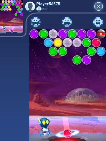 Игровой экран в игре в Mars Pop