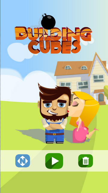 Игра Building Cubes на Android