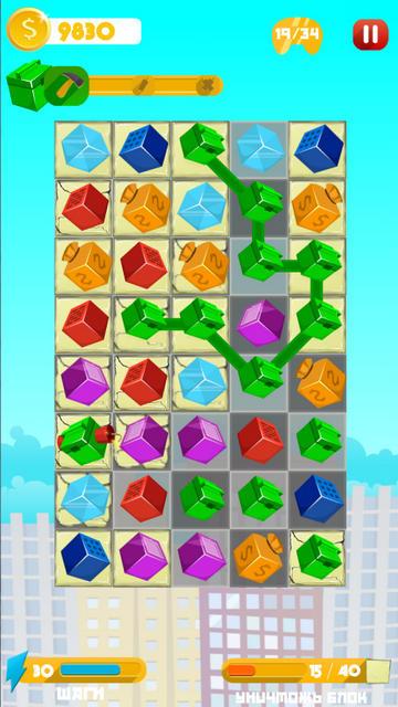 Bulilding Cubes: игра-головоломка на Андроид