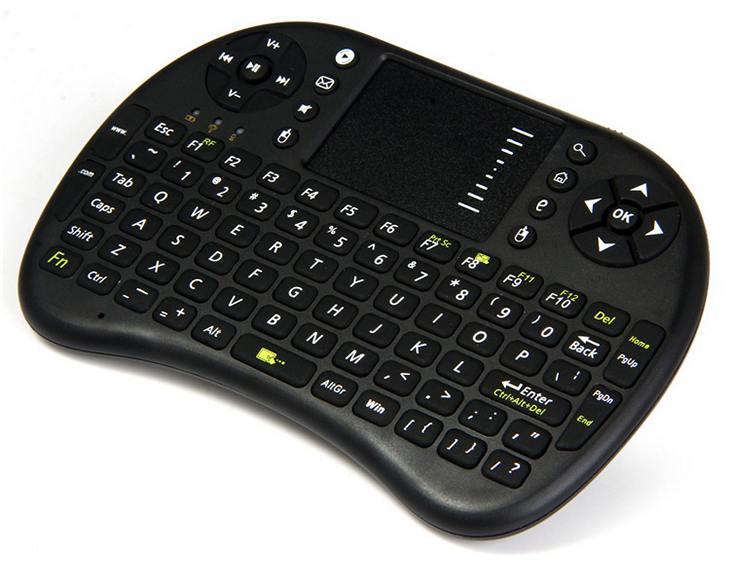 Беспроводная игровая клавиатура UKB – 500 с тачпадом