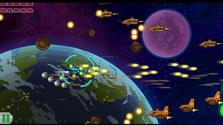 Игра Галактический Воин для смартфонов и планшетов