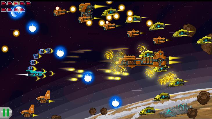 Android-игра Галактический Воин