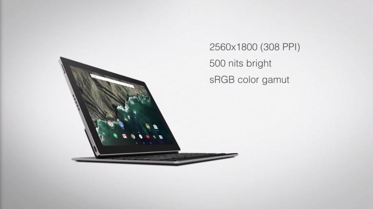 Характеристики экрана Google Pixel C