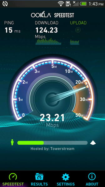 Speedtest Android