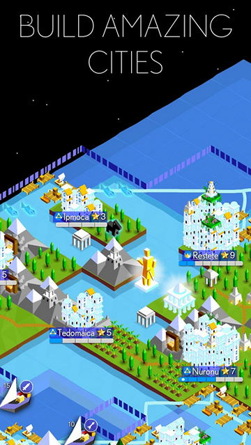 Обзор игры Battle of Polytopia для iPhone и iPad