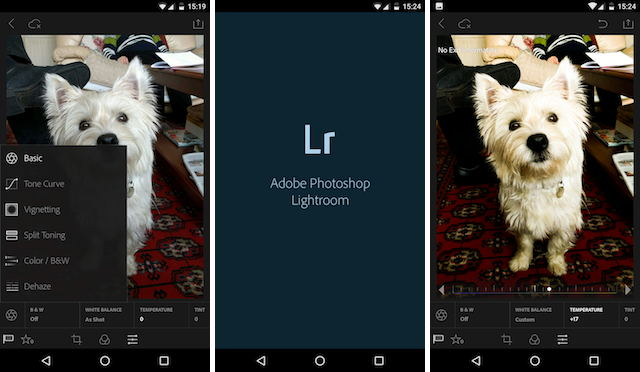 Lightroom Mobile на Android