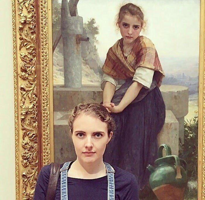 Приложение Arts & Culture несомненно поможет отыскать двойника накартинах великих живописцев