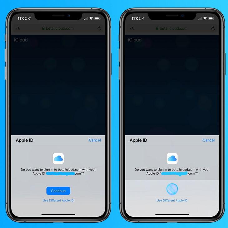 Apple вводит биометрическую авторизацию для входа вiCloud