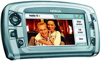 мобильный телефон от Nokia с функцией просмотра мобильного ТВ