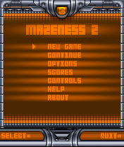 Mazeness java game