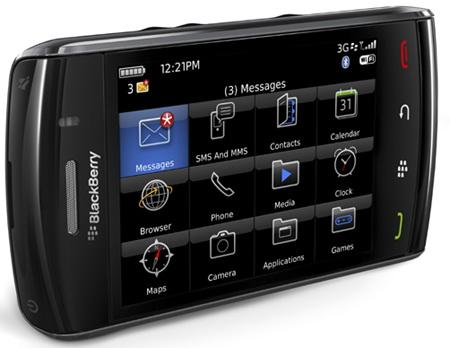 Blackberry 9550 Игры